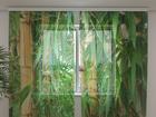 Šifoon-fotokardin Bamboo forest 240x220 cm ED-100027