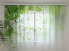 Šifoon-fotokardin White lilac 240x220 cm ED-100154