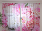 Šifoon-fotokardin Tender roses 240x220 cm ED-100161