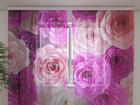 Šifoon-fotokardin Roses Carolina 240x220 cm ED-100165