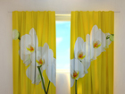 Pimendav kardin White orchids 220x240 cm ED-100461
