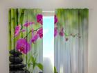 Poolpimendav kardin Crimson orchids 1, 240x220 cm ED-100499