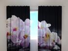 Poolpimendav kardin Orchids on stones 240x220 cm ED-100503