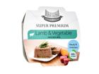 Hau-Hau Super Premium lambaliha ja juurvilja paté riisiga 3x100g MC-100626
