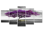 Viieosaline seinapilt Colors ED-100996
