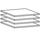 Lisariiulite komplekt 60 cm kapile, 4 tk AY-101815