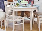 Pikendatav söögilaud Family 105x165-215 cm, valge WM-102300