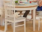 Pikendatav söögilaud Family 105x165-215 cm, valge+tamm WM-102303