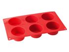 Silikoonist muffinipann 6 pesaga UR-105250