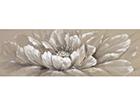 Õlimaal Valge lill 50x150 cm EV-106548