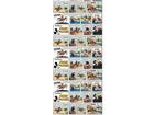 Fliistapeet Mickey Mouse 3, 53x1000 cm ED-108081