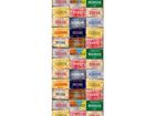 Fliistapeet License plates 53x1000 cm ED-108129