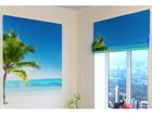 Pimendav roomakardin One Palm tree 120x140 cm ED-108399