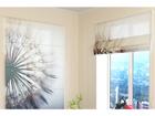 Poolläbipaistev roomakardin Amazing Dandelion 120x140 cm ED-108461