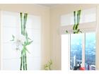 Poolläbipaistev roomakardin Bamboo and white orchid 1