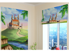Pimendav roomakardin Castle for a Princess 100x120 cm ED-108564