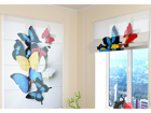 Poolläbipaistev roomakardin Colorful Butterflies 100x120 cm ED-108600