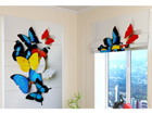 Pimendav roomakardin Colorful Butterflies 60x60 cm ED-108602