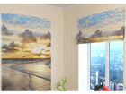 Pimendav roomakardin Faraway Ocean 100x120 cm ED-108673