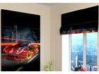 Pimendav roomakardin Fiery Supercar 100x120 cm ED-108679