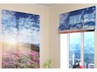 Poolläbipaistev roomakardin Flowers and mountains 2 60x60 cm ED-108681