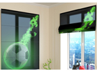 Poolläbipaistev roomakardin Green fire 60x60 cm ED-108843