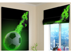 Pimendav roomakardin Green fire 120x140 cm ED-108850