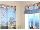 Poolläbipaistev roomakardin Japan 60x60 cm ED-108871
