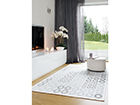 Narma newWeave® šenillvaip Kupu white 80x250 cm NA-109332