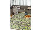 Narma newWeave® šenillvaip Luke green 70x140 cm NA-109539