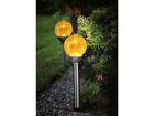 Päikesepaneeliga aiavalgustikomplekt 2tk AA-109564