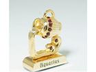 Kullatud Swarovski kristallidega kuju Veevalaja MO-109827