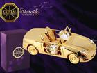 Swarovski kristallidega kuju Kabriolett MO-109836