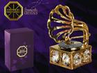 Swarovski kristallidega kuju Grammofon MO-109839