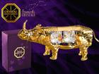 Swarovski kristallidega kuju Ninasarvik MO-109874