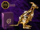Swarovski kristallidega kuju Känguru MO-109888