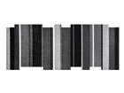 Vaip Dancing Steps black 80x200 cm A5-110197