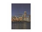 Seinapilt puidul Chicago Skyline ED-113175