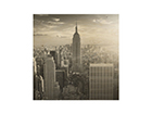 Seinapilt puidul Manhattan Skyline ED-113177