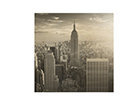 Seinapilt puidul Manhattan Skyline ED-113179