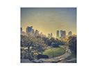 Seinapilt puidul Peaceful Central Park ED-113192