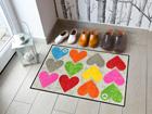 Vaip Colourful Hearts 50x75 cm A5-113339