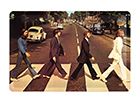 Retro metallposter The Beatles Abbey Road 30x20 cm