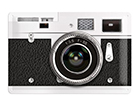 Retro metallposter Kamera 20x30 cm SG-114904
