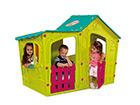 Mängumaja lastele Magic Villa, türkiissinine/heleroheline TE-115485