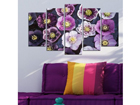 Viieosaline seinapilt Flower Power 100x60 cm ED-116550