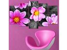 Viieosaline seinapilt Flower Power II, 100x60 cm ED-116552