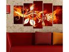 Viieosaline seinapilt Flower Power III, 100x60 cm ED-116553