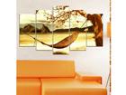 Viieosaline seinapilt Holiday Paradise 100x60 cm ED-116559