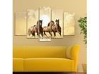 Viieosaline seinapilt Horse II, 100x60 cm ED-116571
